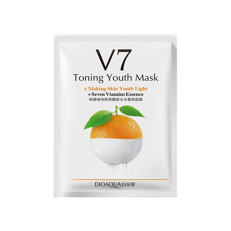 ماسک ورقه ای آبرسان عمیق V7 بیوآکوا